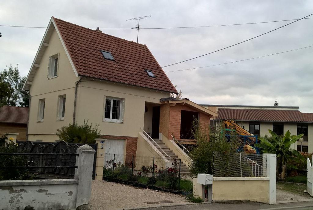 Assez Charpente Mortier - Réalisation de maison ossature bois DF03
